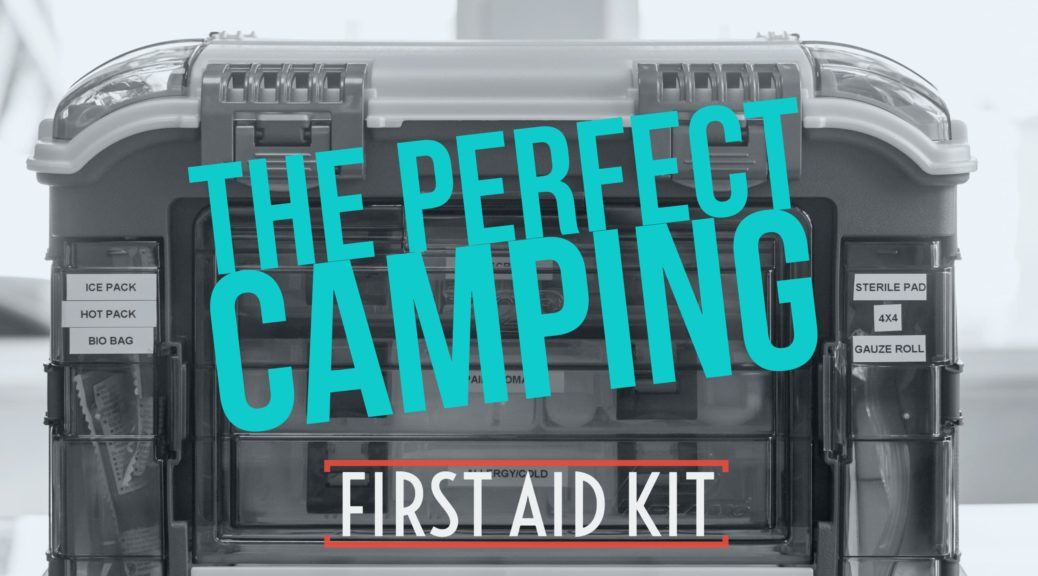 Picture of the perfect rv camping first aid kit